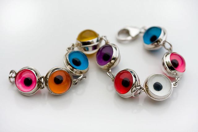 My New Bracelet: Wards Off Evil & It's Colorful