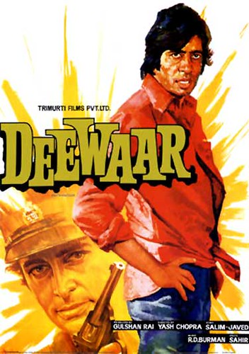 Bollywood - Deewar - Movie Poster | by Firstposter.com Movie Posters Wall