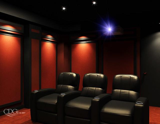 Ss03 Theater Design Home Theater Interior Design Concept Flickr