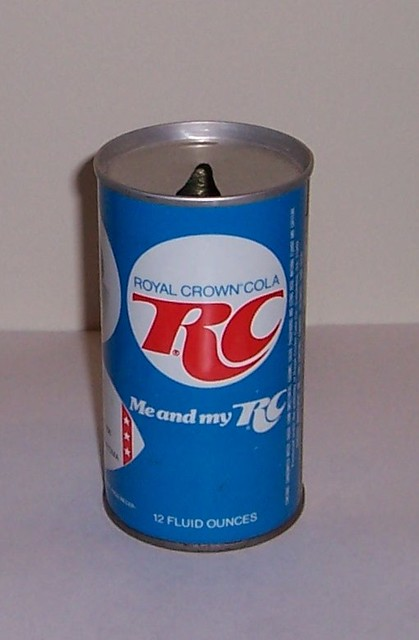 Old Rc Can Older Can Design For Rc Cola The Can Is