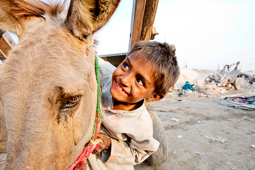 Boy and his donkey | by damonlynch