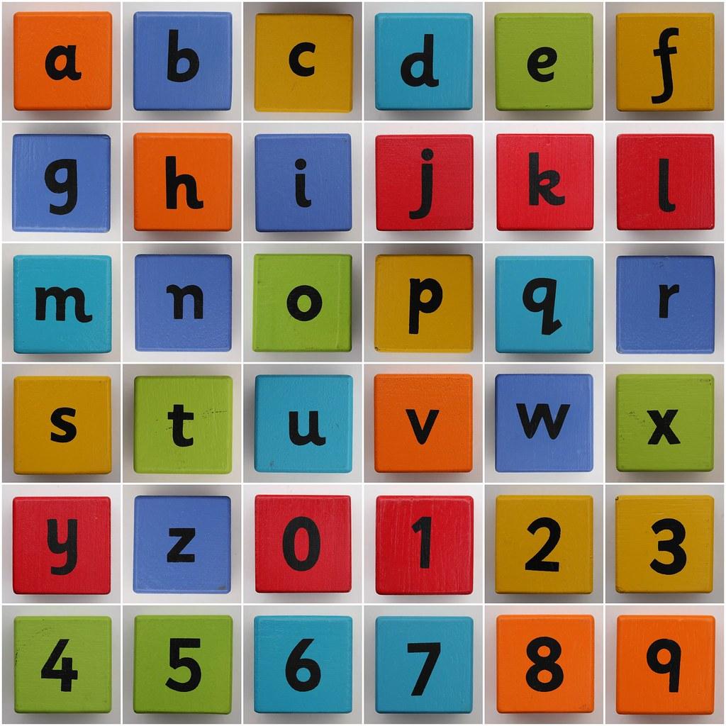 O U R D O L L H O U S E In 2019: 1. Alphabet Block A, 2. Alphabet Block B