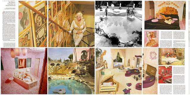 Jayne Mansfield 39 S Pink Palace 1 Jayne Mansfield At Her