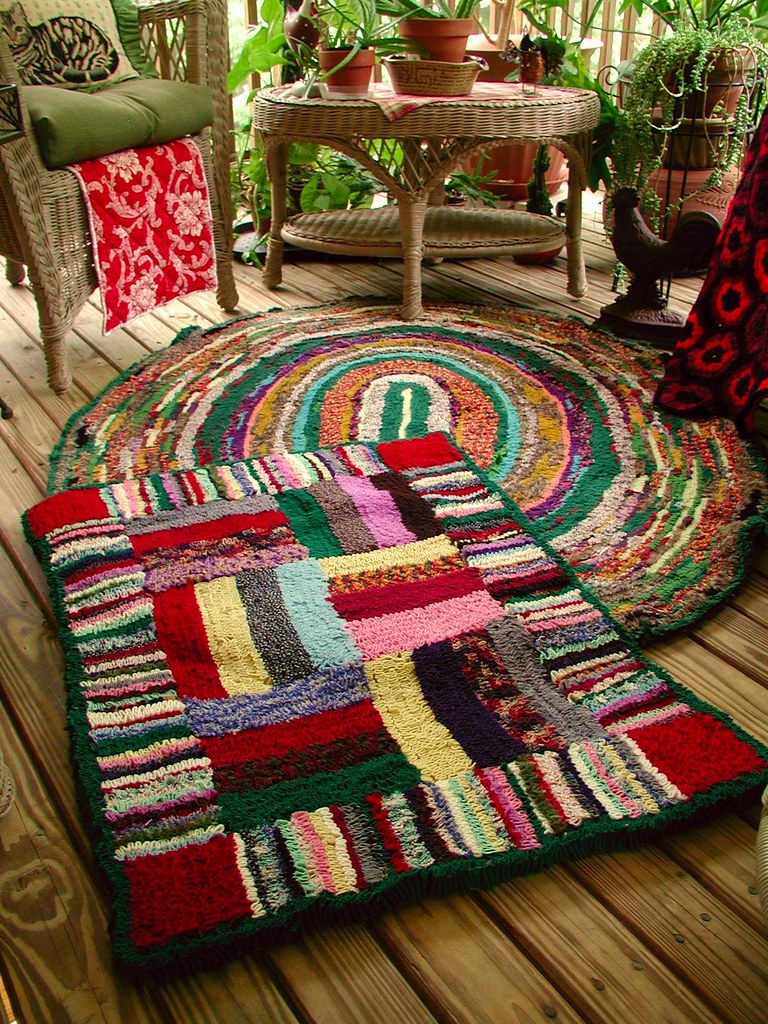 Shirret Rug Done Dawn Sparks Flickr