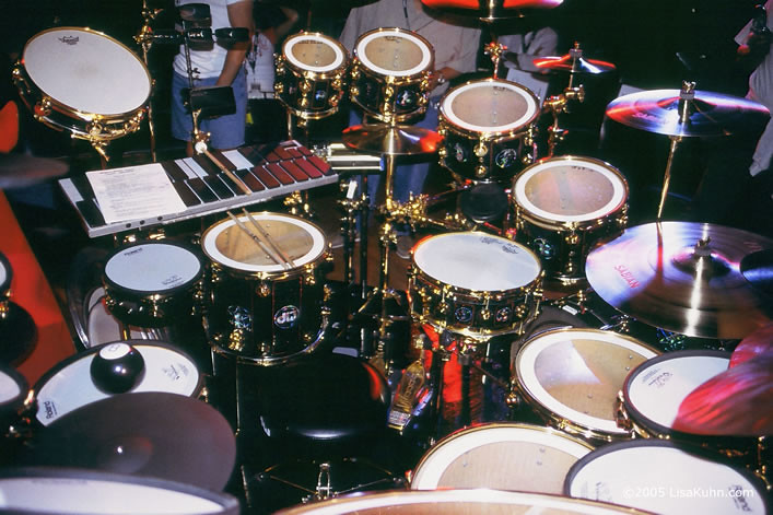Neil Peart Rush 30th Anniversary Drum Kit R30 Photograph Flickr