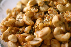 Rosemary Roasted Cashews III | by yumcat