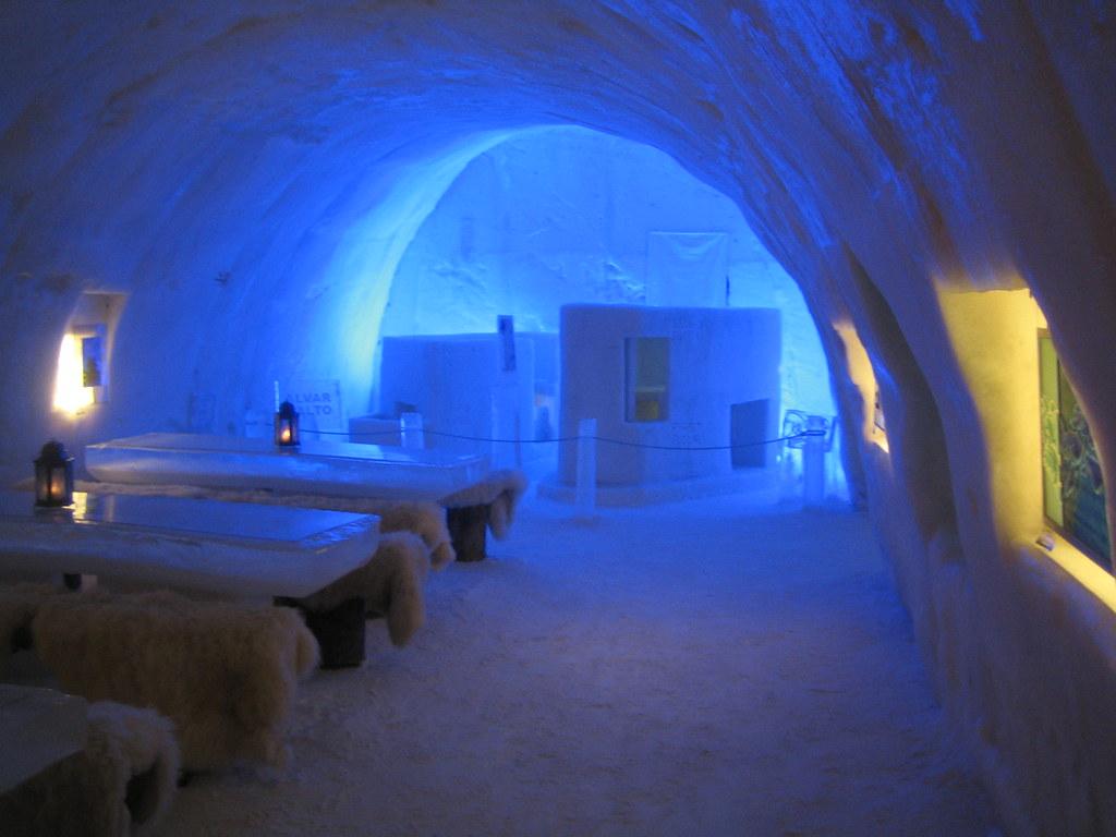 Al Com Mobile >> castello di neve in lapponia 02 | bar di ghiaccio al ...