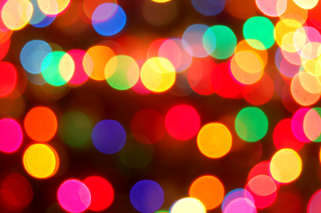 Colorful Christmas Lights | Krissy A. | Flickr