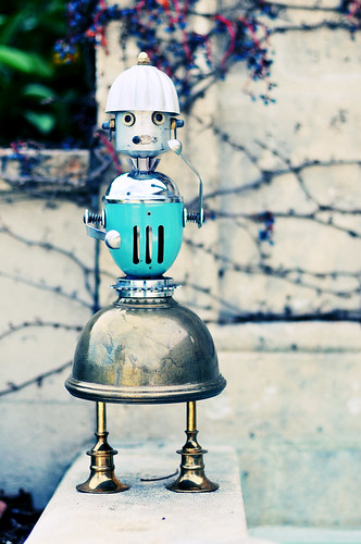fancy nancy robot | by Lockwasher