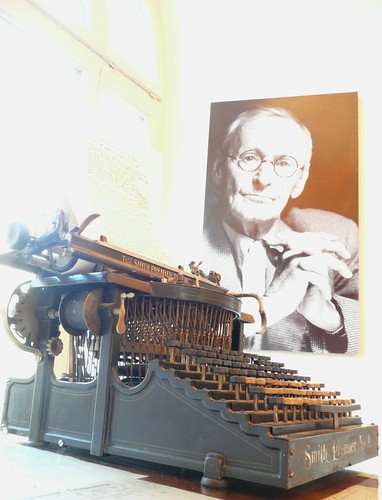 Hesse And His Typewriter by Qtea