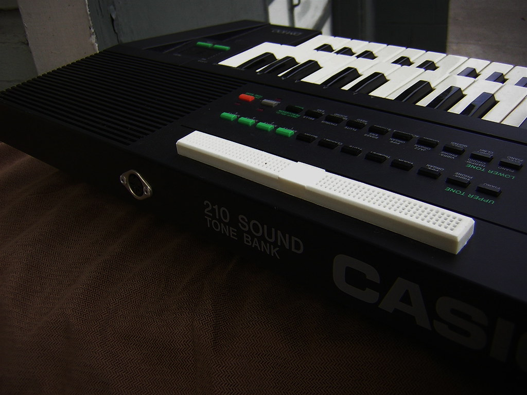 Casio Dm 100 Up For Auction On Ebay Now Bent By Highly Li Flickr Circuit Bending A Sk1 Docpop