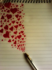 (2) If I was a red biro pen, and you were the page... | by Her life in pictures