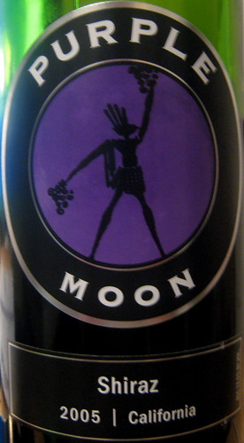 Purple Moon 2005 Shiraz (front) | by 2 Guys Uncorked