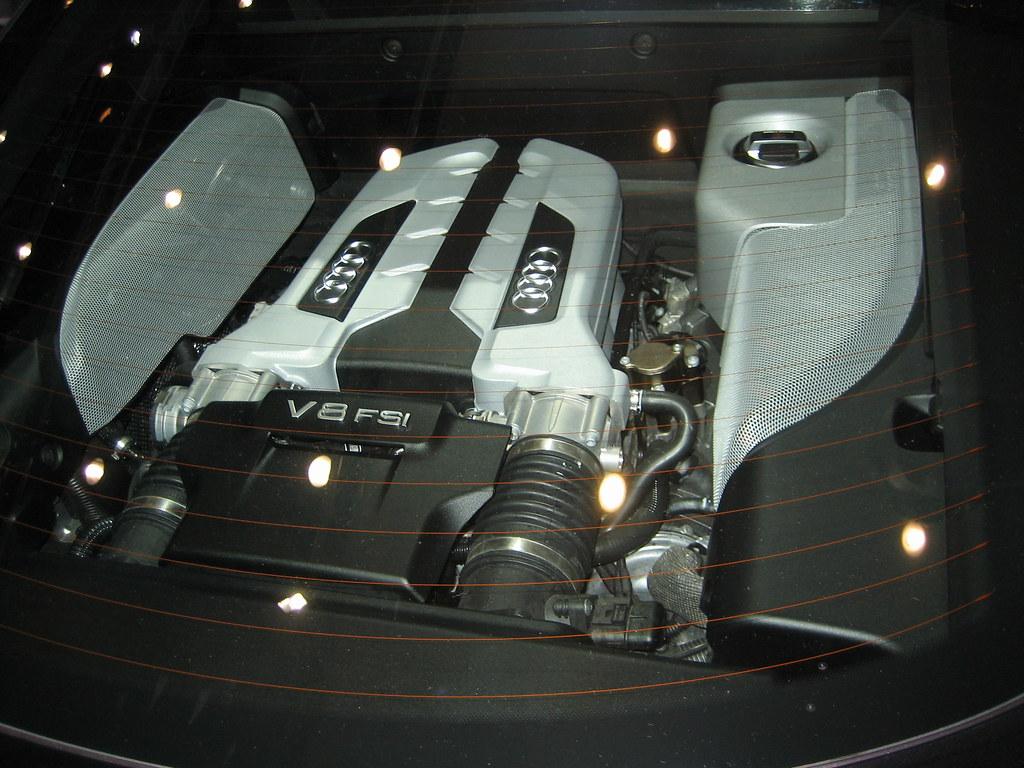 Audi R Engine The V Engine Of The Audi R James Palmer Flickr - Audi r8 engine