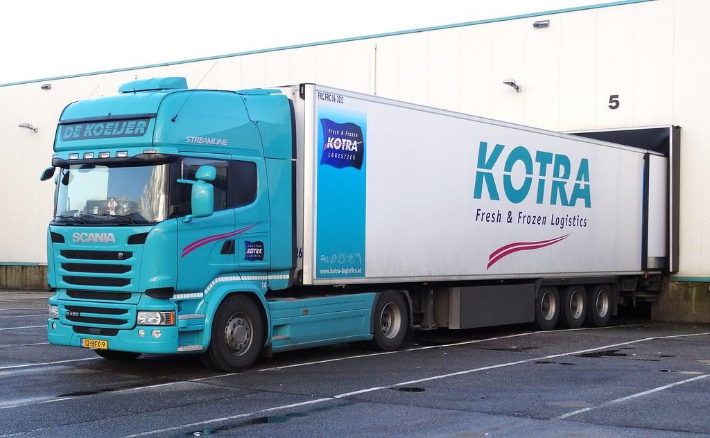 Scania R450tl Streamline De Koeyerkotra Yerseke In Yerse Coen