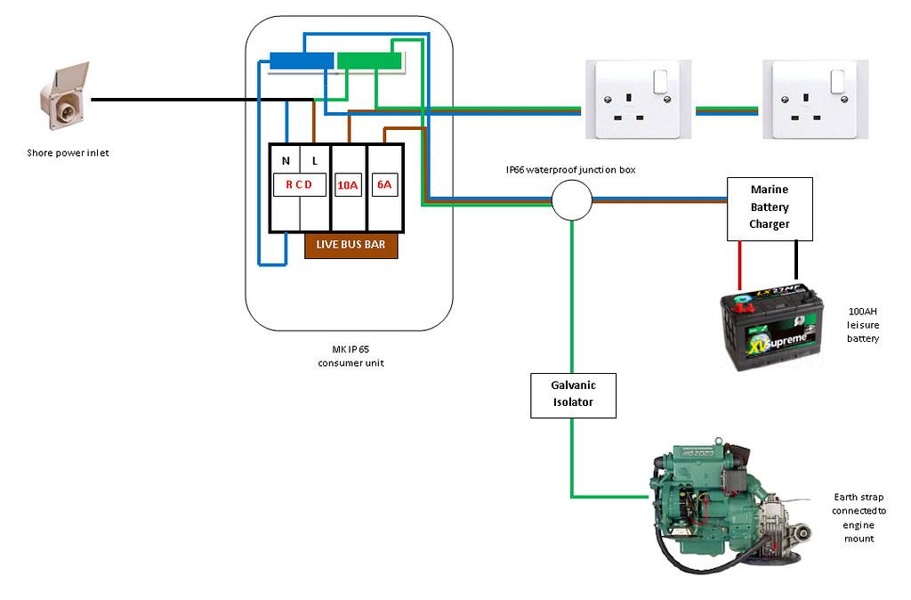 Marine Bus Bar Wiring Diagram