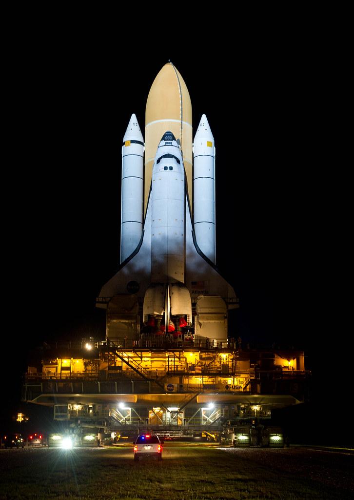 Atlantis STS-135 Rollout (2011...