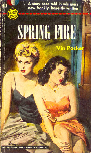 Spring Fire Gold Medal 398 1954 Vin Packer Aka Marijan