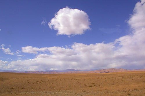 Sky in the desert of Morocco - 03.03.09 | by mastino70