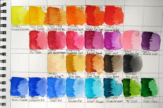 "My Watercolor Palette | by Stephanie ""Biffybeans"" Smith"