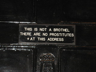 A Sign on Door in Soho, London | by Nadeem_London