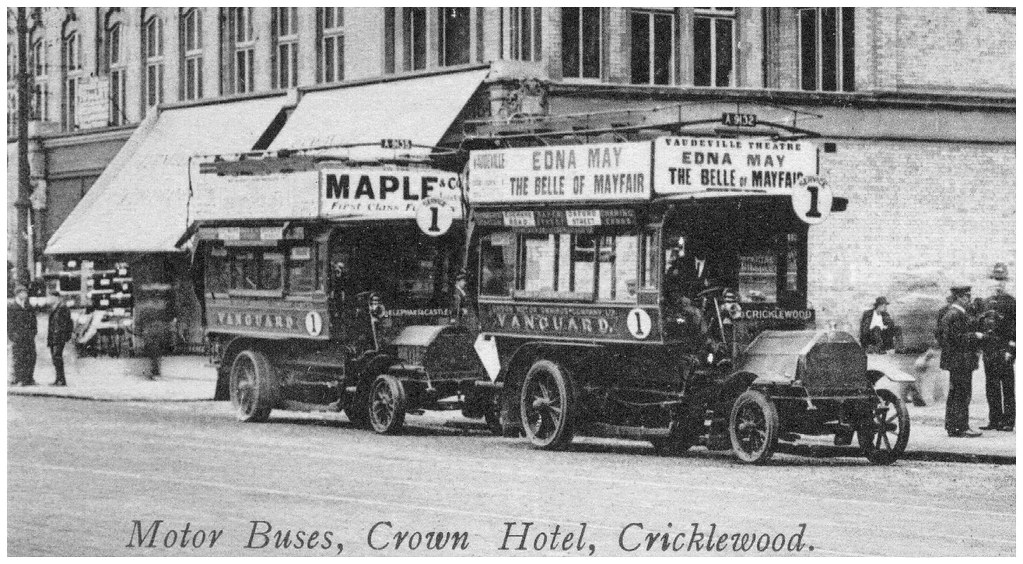 Cricklewood London Motor Buses Standing London