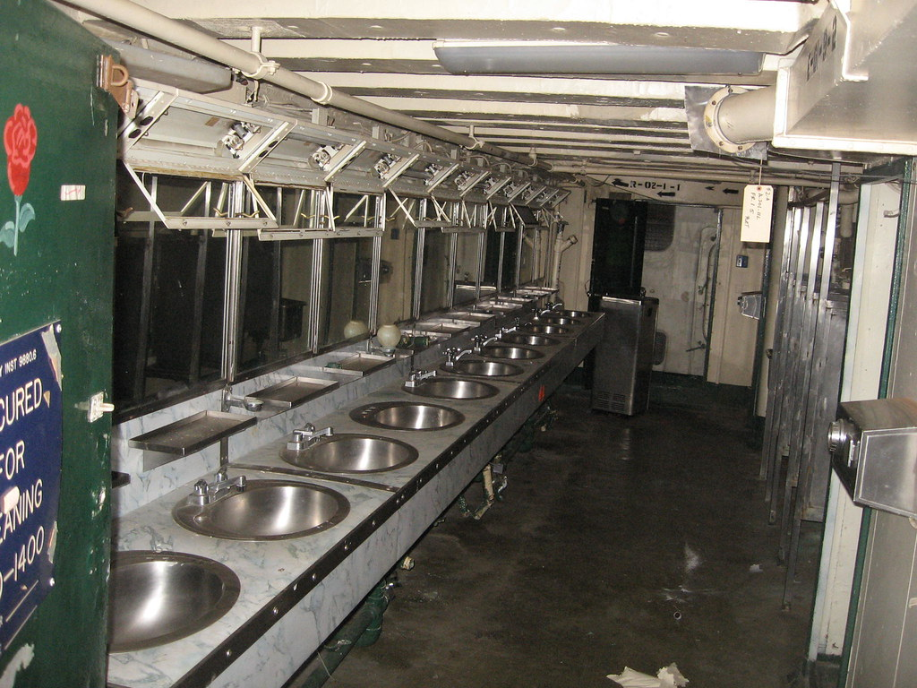 Crew S Head Toilet Onboard Uss Midway May 2011 Just