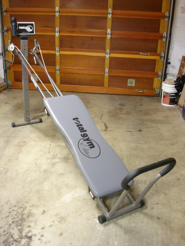 SALE total gym | Total Gym Elite comparable: www.qvc.com ...