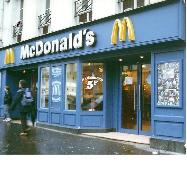 McDonald\'s versailles, France   I took a photo of this McDon…   Flickr