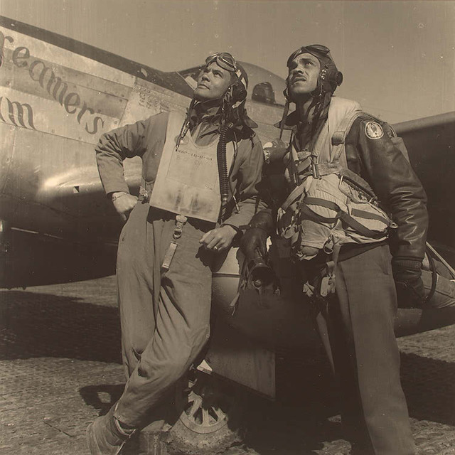 a history of the tuskegee airmen of world war two The 'cisco kids': tuskegee airmen brothers george and when world war ii he was a producer/interviewer for the national tuskegee airmen oral history.