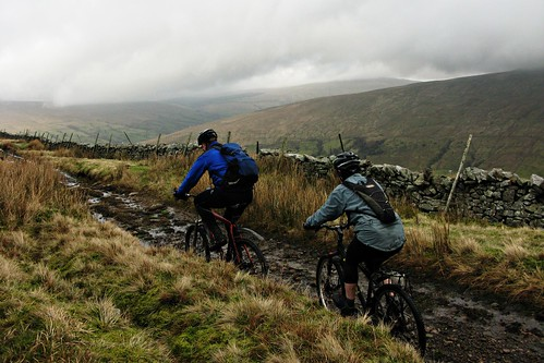 Day 134 - Mountain Biking in the Forest of Bowland | by Phil and Pam