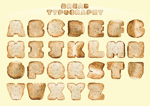 Bread Typography | by justintanwy