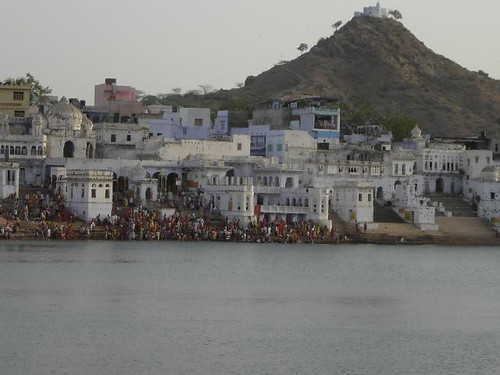 Dianne Sharma Winter. Pushkar Lake. India | by BLANK NOISE SITE IDENTIFIED