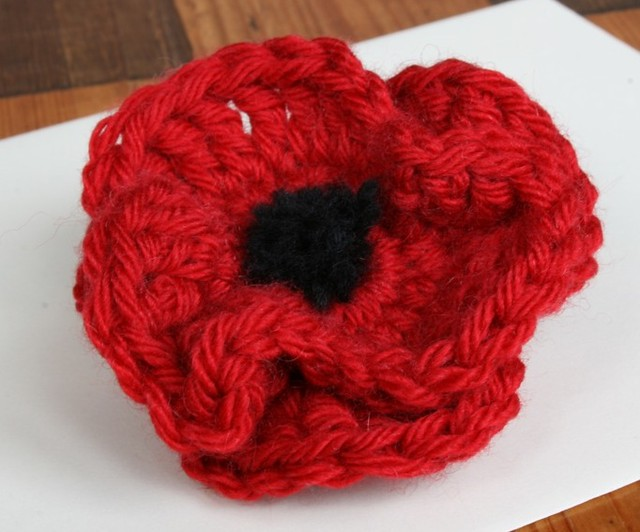 Poppy Brooch Rebecca Flickr