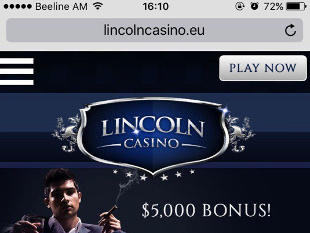 Lincoln Mobile Casino Home
