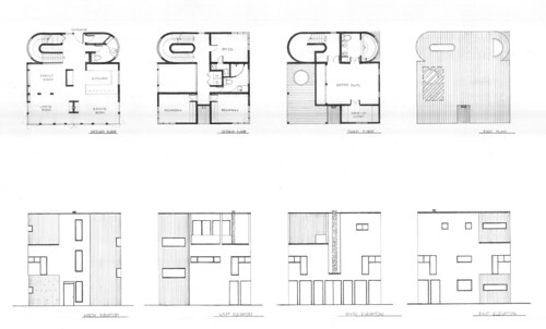 Cube house plans and elevations anna flickr Cube house plans