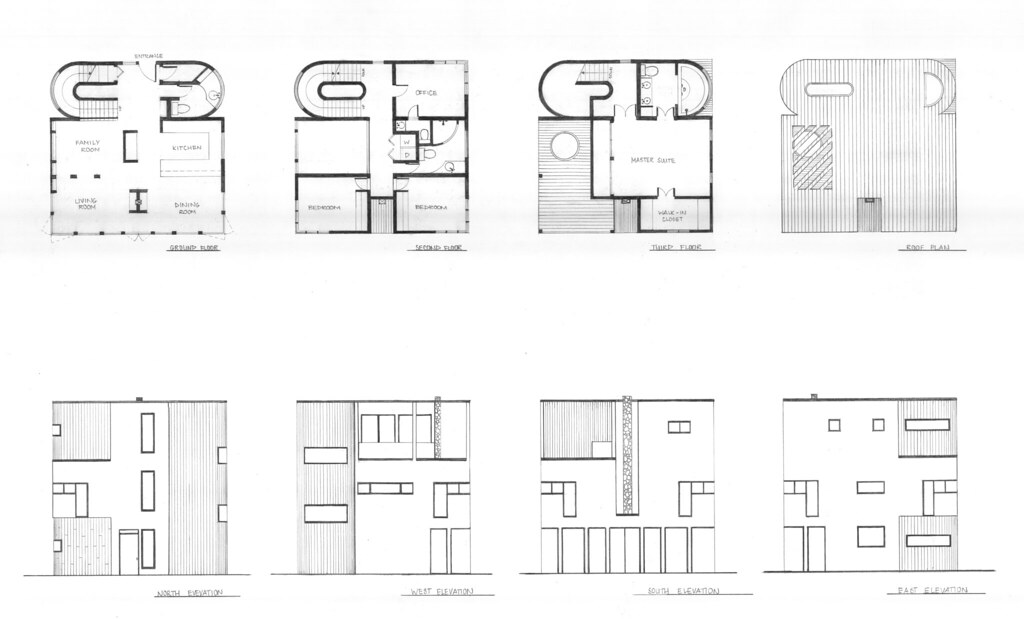 All sizes   Cube House   Plans and Elevations   Flickr   Photo    Photo   All sizes