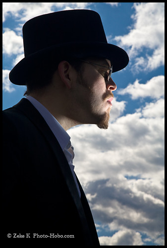 Man in Top Hat With Clouds 01 | by Zeke.K