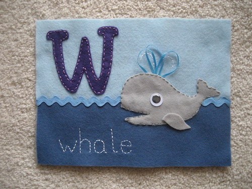 "Baby book ""Whale"" 