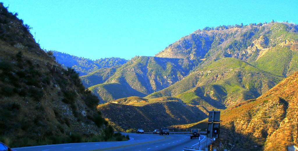 Rim Of The World Scenic Byway San Bernardino National