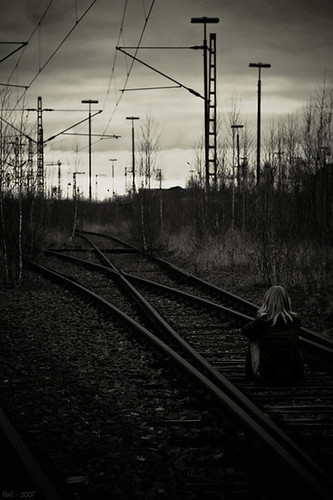 waiting for the train... (Part I) | by Frall