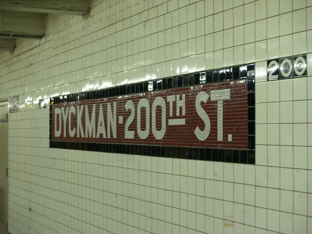 Dyckman Street Station 2   Flickr - Photo Sharing!