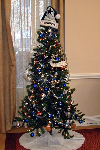 The Dallas Cowboys Tree At The Waterford This Photo Is