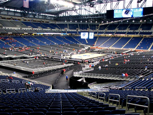 Ford Field Arena Ford Field Transformed Into A