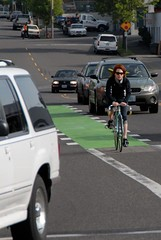 Green bike lanes-5.jpg | by BikePortland.org