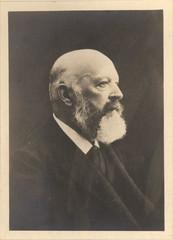 Portrait of Adolf von Baeyer (1835-1917), Chemist