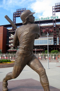 Philadelphia: Citizens Bank Park - Mike Schmidt statue | by wallyg