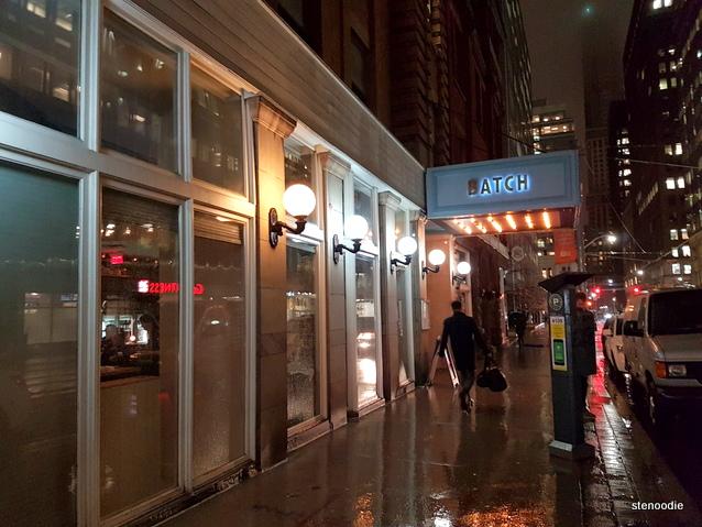 Batch Toronto storefront