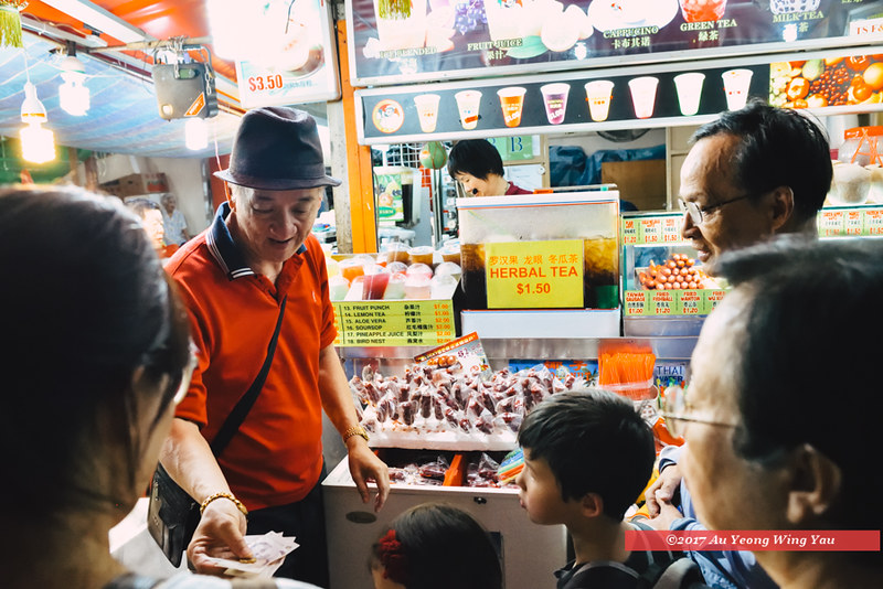 Singapore 2017: Chinatown Bazaar - At The Drinks Stall