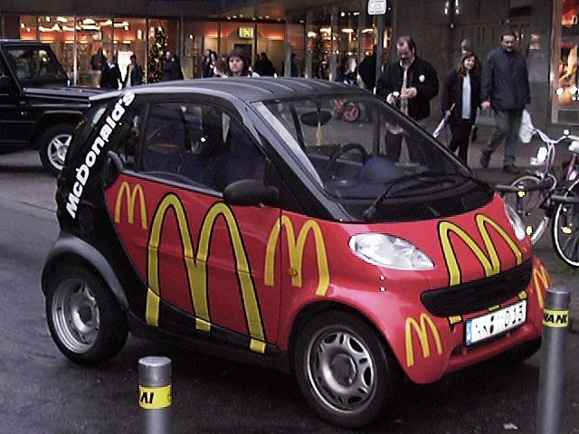 mcdonalds smart car i want a smart car just not one cove flickr. Black Bedroom Furniture Sets. Home Design Ideas